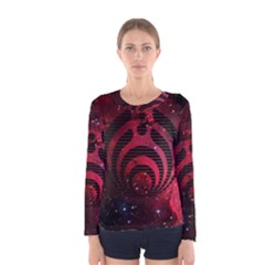Bassnectar Galaxy Nebula Women s Long Sleeve Tee