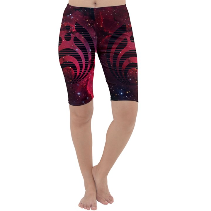 Bassnectar Galaxy Nebula Cropped Leggings