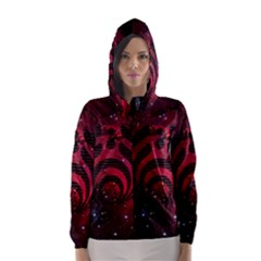 Bassnectar Galaxy Nebula Hooded Wind Breaker (Women)