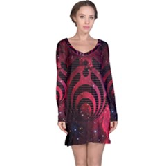 Bassnectar Galaxy Nebula Long Sleeve Nightdress