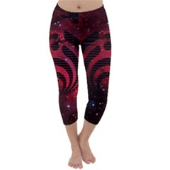Bassnectar Galaxy Nebula Capri Winter Leggings
