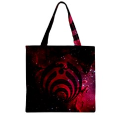 Bassnectar Galaxy Nebula Zipper Grocery Tote Bag