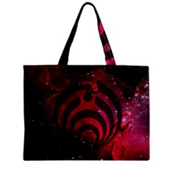 Bassnectar Galaxy Nebula Zipper Mini Tote Bag