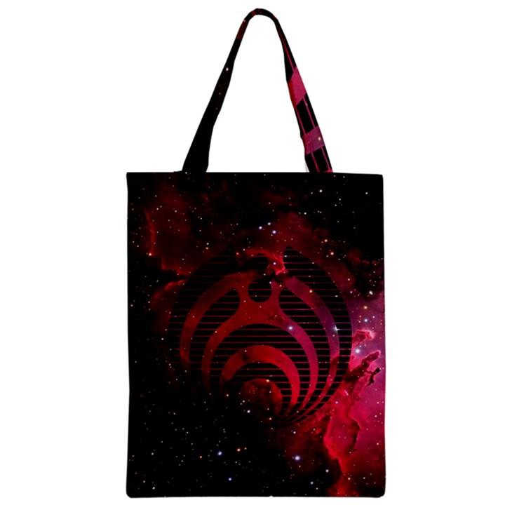 Bassnectar Galaxy Nebula Zipper Classic Tote Bag