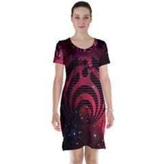 Bassnectar Galaxy Nebula Short Sleeve Nightdress