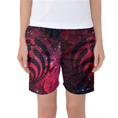 Bassnectar Galaxy Nebula Women s Basketball Shorts