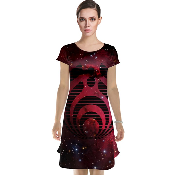 Bassnectar Galaxy Nebula Cap Sleeve Nightdress