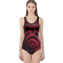 Bassnectar Galaxy Nebula One Piece Swimsuit