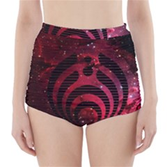 Bassnectar Galaxy Nebula High-Waisted Bikini Bottoms