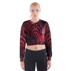 Bassnectar Galaxy Nebula Women s Cropped Sweatshirt