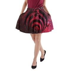 Bassnectar Galaxy Nebula A-Line Pocket Skirt