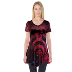 Bassnectar Galaxy Nebula Short Sleeve Tunic