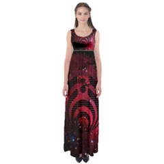 Bassnectar Galaxy Nebula Empire Waist Maxi Dress