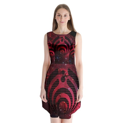Bassnectar Galaxy Nebula Sleeveless Chiffon Dress