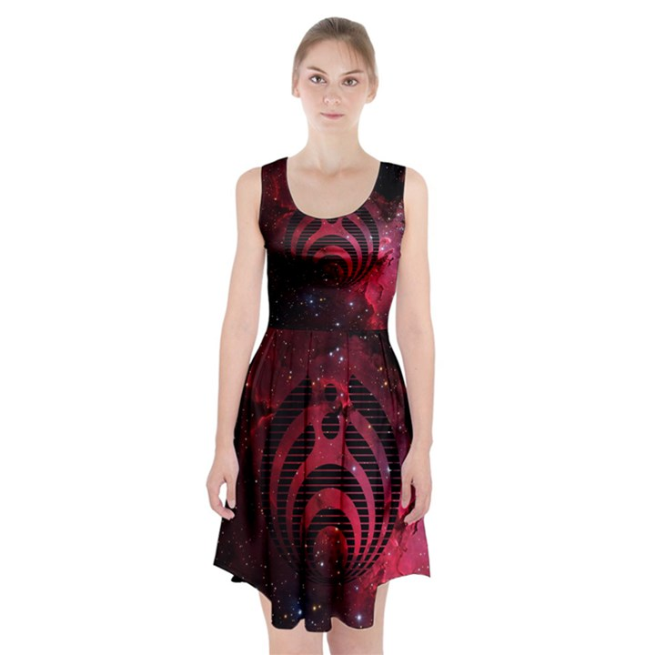 Bassnectar Galaxy Nebula Racerback Midi Dress