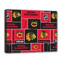 Chicago Blackhawks Nhl Block Fleece Fabric Canvas 14  x 11  View1