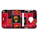 Chicago Blackhawks Nhl Block Fleece Fabric HTC Evo 4G LTE Hardshell Case  View1