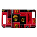 Chicago Blackhawks Nhl Block Fleece Fabric Motorola DROID X2 View1