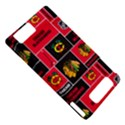 Chicago Blackhawks Nhl Block Fleece Fabric Motorola DROID X2 View5
