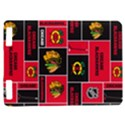 Chicago Blackhawks Nhl Block Fleece Fabric Kindle Touch 3G View1