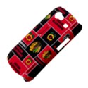Chicago Blackhawks Nhl Block Fleece Fabric Samsung Galaxy Nexus S i9020 Hardshell Case View4
