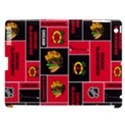Chicago Blackhawks Nhl Block Fleece Fabric Apple iPad 3/4 Hardshell Case (Compatible with Smart Cover) View1