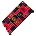 Chicago Blackhawks Nhl Block Fleece Fabric Apple iPad 3/4 Hardshell Case (Compatible with Smart Cover) View4