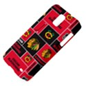 Chicago Blackhawks Nhl Block Fleece Fabric Samsung Galaxy S II Skyrocket Hardshell Case View4