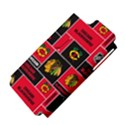 Chicago Blackhawks Nhl Block Fleece Fabric Apple iPhone 5 Hardshell Case (PC+Silicone) View4
