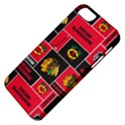 Chicago Blackhawks Nhl Block Fleece Fabric Apple iPhone 5 Classic Hardshell Case View4