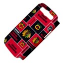 Chicago Blackhawks Nhl Block Fleece Fabric Samsung Galaxy S III Hardshell Case (PC+Silicone) View4