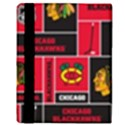 Chicago Blackhawks Nhl Block Fleece Fabric Apple iPad 2 Flip Case View3