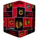 Chicago Blackhawks Nhl Block Fleece Fabric Apple iPad 2 Flip Case View4