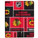 Chicago Blackhawks Nhl Block Fleece Fabric Apple iPad 3/4 Flip Case View1