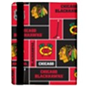 Chicago Blackhawks Nhl Block Fleece Fabric Apple iPad Mini Flip Case View3