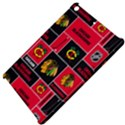 Chicago Blackhawks Nhl Block Fleece Fabric Apple iPad Mini Hardshell Case View4
