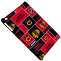 Chicago Blackhawks Nhl Block Fleece Fabric Apple iPad Mini Hardshell Case View5