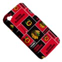 Chicago Blackhawks Nhl Block Fleece Fabric Apple iPhone 4/4S Hardshell Case (PC+Silicone) View5