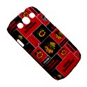 Chicago Blackhawks Nhl Block Fleece Fabric Samsung Galaxy S III Classic Hardshell Case (PC+Silicone) View5