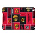 Chicago Blackhawks Nhl Block Fleece Fabric Apple iPad Mini Hardshell Case (Compatible with Smart Cover) View1