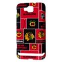 Chicago Blackhawks Nhl Block Fleece Fabric Samsung Ativ S i8750 Hardshell Case View3