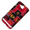 Chicago Blackhawks Nhl Block Fleece Fabric Samsung Ativ S i8750 Hardshell Case View4