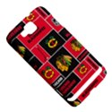 Chicago Blackhawks Nhl Block Fleece Fabric Samsung Ativ S i8750 Hardshell Case View5