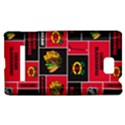 Chicago Blackhawks Nhl Block Fleece Fabric HTC 8S Hardshell Case View1