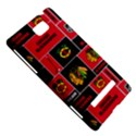 Chicago Blackhawks Nhl Block Fleece Fabric HTC 8S Hardshell Case View5