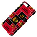 Chicago Blackhawks Nhl Block Fleece Fabric Apple iPhone 5 Hardshell Case with Stand View4