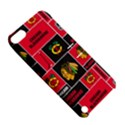 Chicago Blackhawks Nhl Block Fleece Fabric Apple iPod Touch 5 Hardshell Case with Stand View5