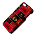 Chicago Blackhawks Nhl Block Fleece Fabric Apple iPhone 5 Premium Hardshell Case View4