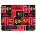 Chicago Blackhawks Nhl Block Fleece Fabric Samsung Galaxy Tab 7  P1000 Flip Case View1