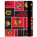 Chicago Blackhawks Nhl Block Fleece Fabric Samsung Galaxy Tab 10.1  P7500 Flip Case View3
